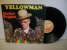 LP: HOTTER REGGAE; YELLOWMAN; 1982 ORIGINAL JAM ROCK PRESS