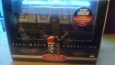 New Pirates of the Caribbean: 4 Movie Collection Treasure Chest Blu-ray + Digtal