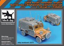 BLACK DOG T35092 - 1:35 Land Rover Defender Snatch Barracuda - Afghanistan conve