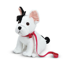 """American Girl LE GRACES FRENCH BULLDOG for 18"""" Dolls Puppy Pet Dog White NEW*"""
