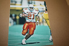 OKLAHOMA STATE COWBOYS BARRY SANDERS UNSIGNED 8X10 PHOTO POSE 2