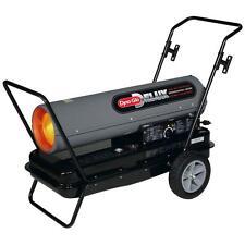 Kerosene Forced Air Space Heater Portable Shop Torpedo Outdoor Cart w/ Wheels