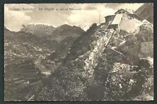 Bolzano : Funicolare del Virgolo -  cartolina indicativamente anni '30