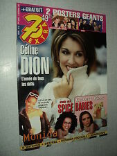 7 EXTRA 98/36 (2/9/98) CELINE DION FIVE SPICE GIRLS BACKSTREET BOYS DES'REE SASH