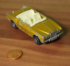 Modellauto Matchbox Series No.69 Rolls Royce Silver Shadow Coupe 1969 Lesney(C4)