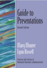 Guide to Presentations (2nd Edition) (Prentice Hall Guides to Advanced Communica
