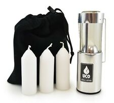 Emergency Survival Kits Original Candle Lantern Collapsible Camping Backpack