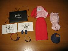1995 Barbie Reproduction Outfit of Vintage #981 Busy Gal - Mint & Complete