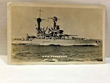 WW2 Era Real Photo's USS Tennessee