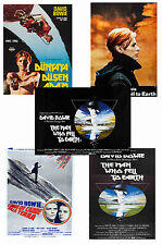 DAVID BOWIE - THE MAN WHO FELL TO EARTH - SET OF 5 - A4 POSTER PRINTS # 1