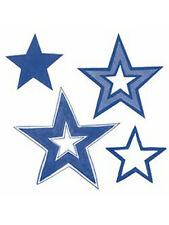 Stars 25 Glow in the Dark Star Space Walls Ceiling Wallies Sticker Glowing Decal
