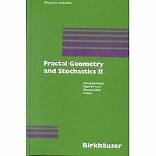 Progress in Probability: Fractal Geometry and Stochastics II 46 (2000,...