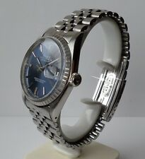 ♛ Rolex 1603 Oyster Perpetual  Datejust, stainless steel 36mm Boxed with papers.