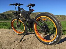 2017 Fat Tire Electric Mountain Bike Bicycle 500 Watts 48v SAMSUNG Battery!