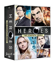 Heroes: Hayden Panettiere Complete Series Seasons 1 2 3 4 DVD Boxed Set NEW!