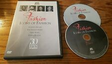 Icons of Fashion (DVD) A&E Biography Armani Versace Family Vera Wang Donna Karen