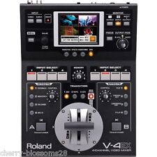 Roland V-4EX Four 4 Channel Digital Video Mixer with Effects Free shipping EMS
