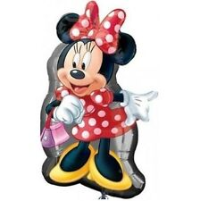 Disney Minnie Mouse  Birthday Party SuperShape Jumbo Foil Balloon 32""
