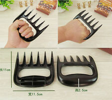 BBQ Tools Bear Paws Claws Meat Handler Fork Tongs Pull Shred Lift Toss Pork  BIN