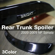 Rear Trunk Lip Spoiler [Bright] 3Color For HYUNDAI 2006-2010 NF Sonata / i45