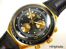 "Swatch: James bond ""goldfinger"" irony-chronograph ycg401 * top-oportunidad! *"
