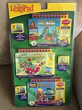 LeapFrog: My First LeapPad Learning System 3-Book Set with I Know My ABCs Onc...