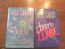 Two Best-Selling Novels by Meg Cabot Ready or Not & Teen Idol Hardcover