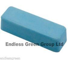Fine rodage pâte-pour cuir avec lanière détachable affûtage-Smurf Poo-barre bleue 110g