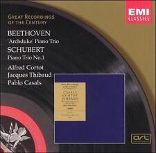 Beethoven: Piano Trio No. 7 - Archduke / Schubert: Piano Trio No. 1 in B flat ..