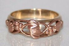 Stunning Clogau Welsh 9ct Rose & Yellow Gold Tree Of Life Ring V 1/2