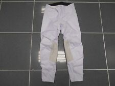 MOTOCROSS OFF ROAD DIRTBIKE RIDING PANTS SOLID WHITE SIZE 28 QUAD ATV CR YZ EA