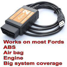 Interface F SUPER 2 Scanner USB Scan Tool injecteur programmation pour Ford