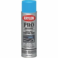 (CASE/6) KRYLON BLUE STRIPING PAINT FAST DRY*** PARKING LOT MARKER