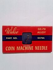 WALCO GC78 - ALLOY NEEDLE FOR ASTATIC CARTRIDGE 51-  USED IN 1000'S OF JUKE BXS