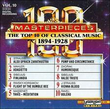 Audio CD: The Top 10 of Classical Music: 1894-1928, . Good Cond. . 018111568524