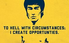 Bruce Lee Flexible Fridge Magnet - 4