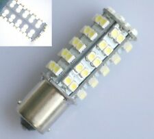 10X 1156 BA15S Tail RV Trailer 12V LED Lights Bulbs 68 SMD 6000K White 1141 1003