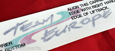 TOYOTA CELICA TEAM EUROPE DECAL ST204 NEW GENUINE OEA95-2