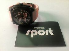 Nuevo - Reloj Watch CP5 Carles Puyol - Black Steel PVD case Pink - Size L - New