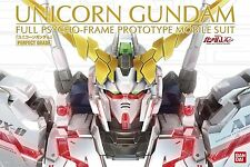 PG Perfect Grade 1/60 RX-0 Unicorn Gundam model kit Bandai