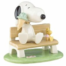 Lenox Peanuts Snoopy & Woodstock Happiness is an Ice Cream Cone  $84.00  **NIB**