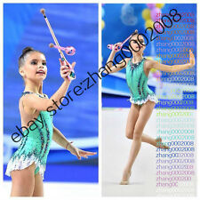 rhythmic gymnastics leotard,Acrobatic Rock'n'Roll Twirling dance dress RG custom