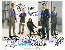 WHITE COLLAR CAST AUTOGRAPHED 8x10 RP PHOTO MATT BOMER TIM DEKAY+