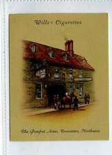 """(Ls238-278) Wills Old Inns, #5, The """"Pomfret Arms"""", Northamptonshire, 1939, VG"""