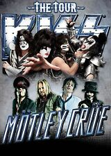 MOTLEY CRUE & KISS TOUR 2012 POSTER SAINTS OF LOS ANGELES
