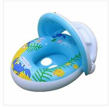Adjustable Sunshade Baby Swim Float Seat For Pool Floats With Sunshade