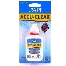API Accu Clear 37ml Aquarium Cloudy Water Clarifier Accu-Clear