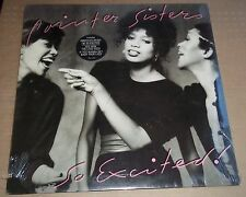 POINTER SISTERS - So Excited! - Planet Records BXL1-4355 SEALED