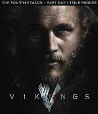 Vikings: Season 4, Part 1 (Blu-ray Disc, 2016, 3-Disc Set,) brand new and sealed
