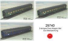 Aus Märklin 29740  Drei Reisezugwagen der DB 1+2.Klasse #NEU#
